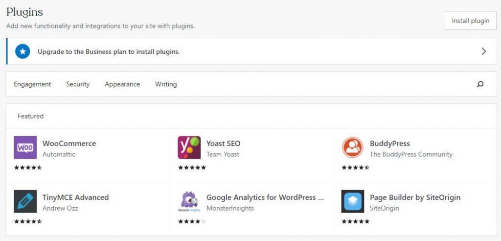 plugins wordpress com