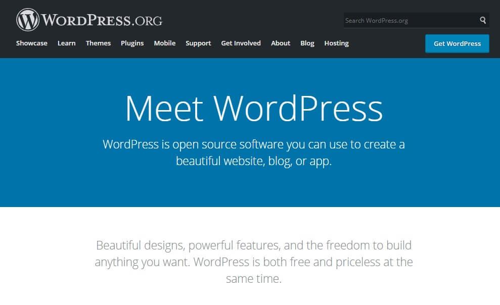 introducing wordpress.org