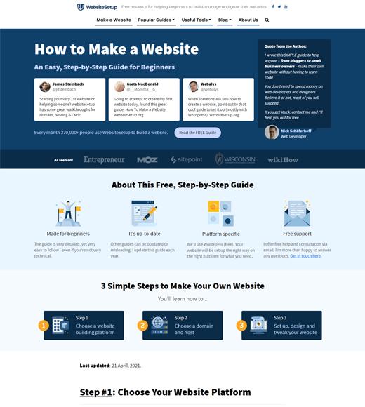 WebsiteSetup