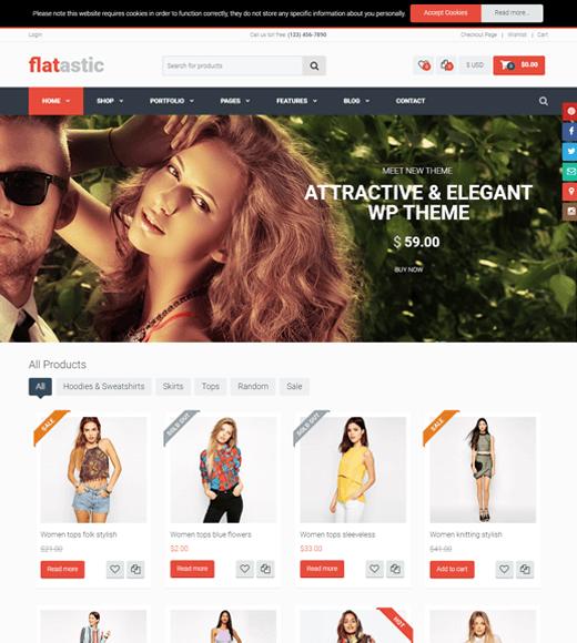 Flatastic Best Multi-vendor Marketplace WordPress Theme Demo
