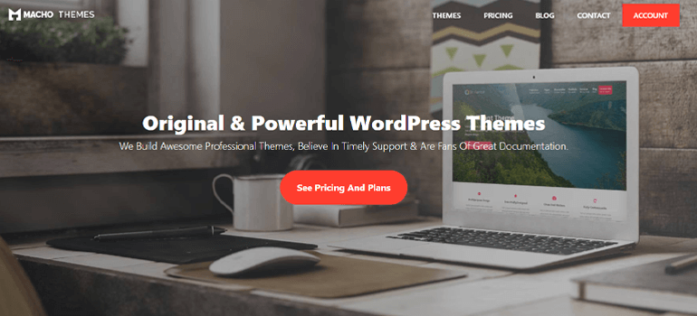 Macho Themes Best Places to Buy WordPress Themes