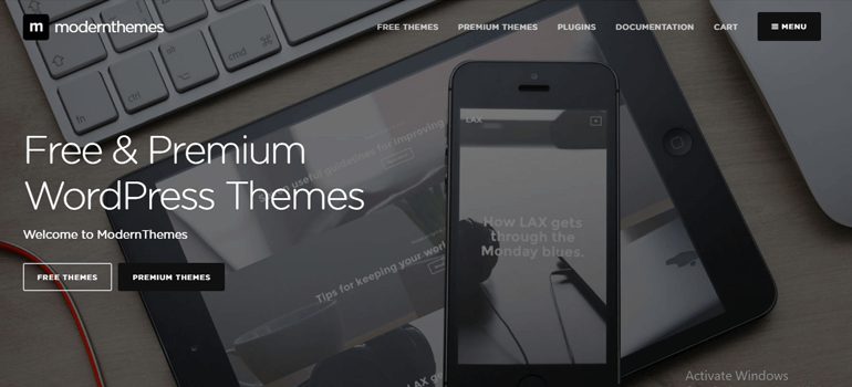 Modern Themes Best Places to Buy WordPress Themes