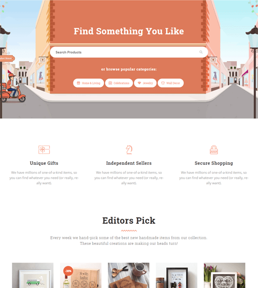 Rigid  Best Multi-vendor Marketplace WordPress Theme Demo