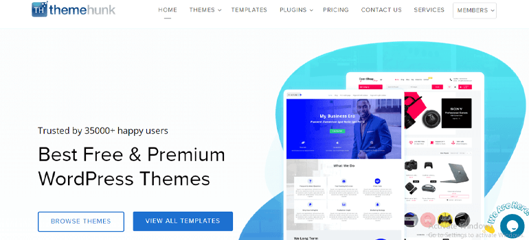 ThemeHunk Best Places to Buy WordPress Themes
