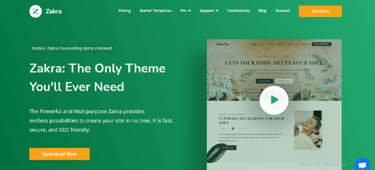 Zakra Best Places to Get WordPress Themes