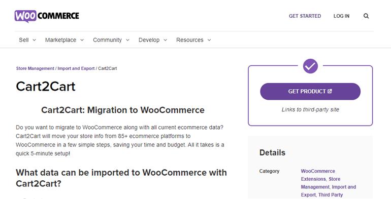 Cart2cart WooCommerce Extension