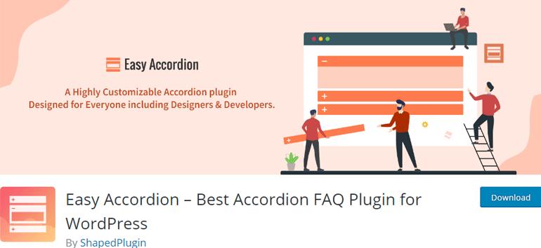 Easy Accordion WordPress FAQ Plugin