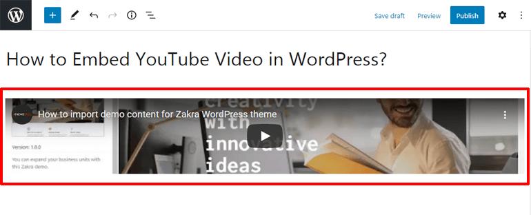 Embedding YouTube Video Using iFrame Code