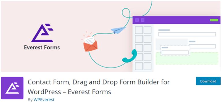 Everest Forms Plugin for eCommerce Website