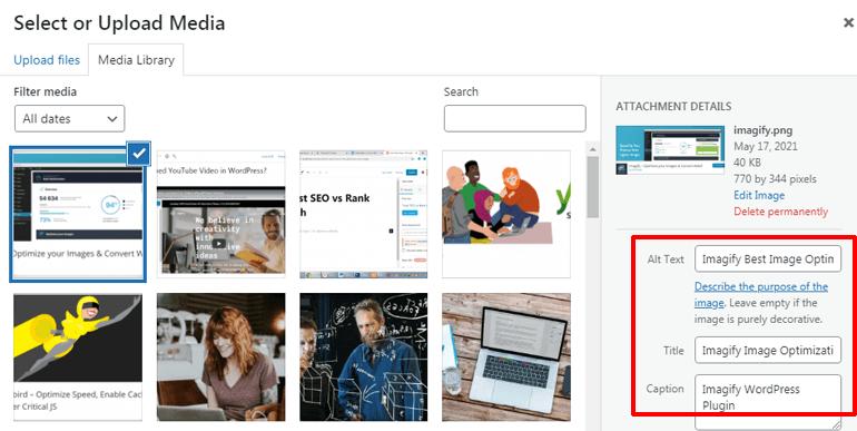Image Optimization How to Improve SEO on WordPress