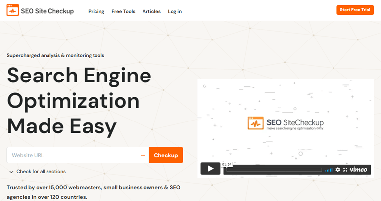 SEO Site Checkup Online Tool How to Improve SEO on WordPress