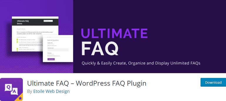 Ultimate FAQ Best FAQ Plugin for WordPress