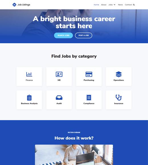 Neve Job Portal WordPress Themes