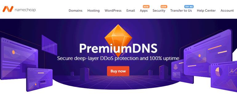 Namecheap Premium DNS Service