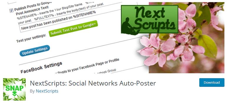 NextScripts WordPress Automation Plugin