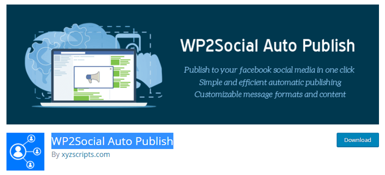 WP2Social Auto Publish Social Media Automation WordPress Plugin