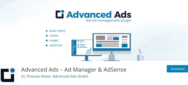 Advanced Ads Place in WordPress
