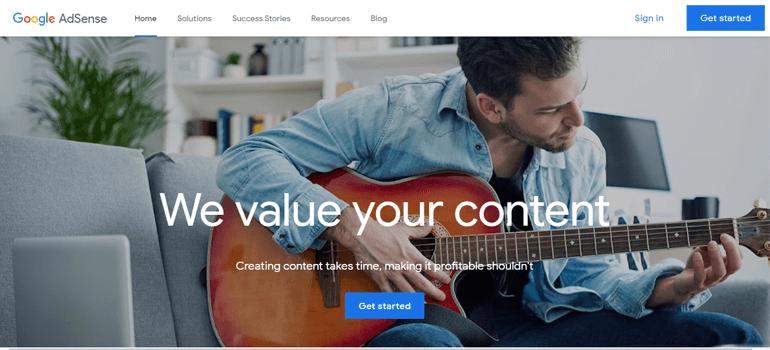 Google AdSense Place Ads in WordPress