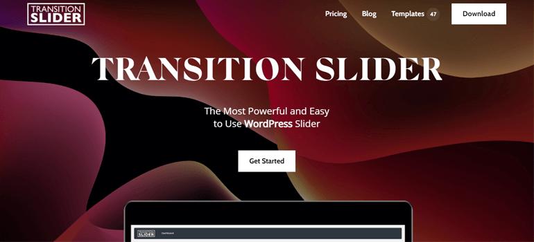 Transition Slider