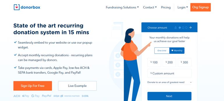 Donorbox WordPress Donate Button Plugin